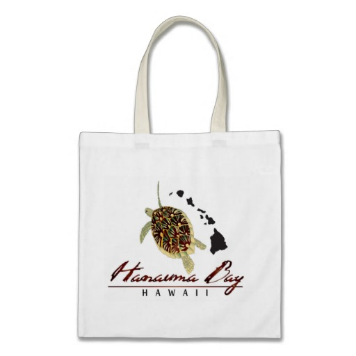 Hanauma Bay Hawaii Beach Bags